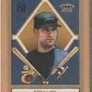 2003 Topps 205 #75A Gold Trim Derek Jeter Yankees