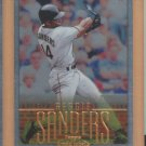 2002 Topps Gold Label Class 1 Gold Reggie Sanders Giants /500