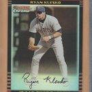 2002 Bowman Chrome Refractor Ryan Klesko Padres /500