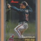 2002 Bowman Chrome Rookie Reprints Bartolo Colon Indians