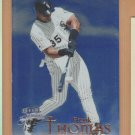 1999 Fleer Brilliants Blue Frank Thomas White Sox
