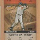2003 Fleer Authentix #127 Robin Ventura Yankees #2 Subset
