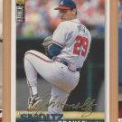 1995 UD Collectors Choice Gold Signature John Smoltz Braves