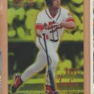 1995 Select Certified Mirror Gold David Justice Braves