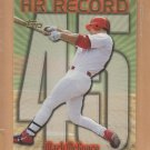1999 Topps 1998 HR Record #45 Mark McGwire Cardinals