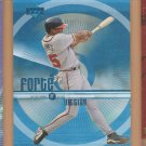 1999 Upper Deck Forte of Hitting Andrew Jones Braves