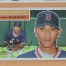 2005 Topps Heritage Chrome Refractor Jose Vaquedano Red Sox RC /556