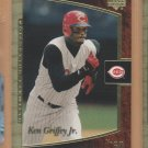 2001 UD Ultimate Collection #84 Ken Griffey Jr. Reds