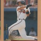 1997 Donruss Team Sets Pennant Edition Gold Javier Lopez Atlanta Braves