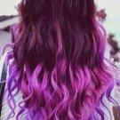 OASAP Fashion Gradual Color Hair Extension, purple&fuchsia, one size, OP37377