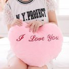 Heart Pattern Luminous Stuffed Toy with Music for Cushion Birthday Gift, blush, OP58866