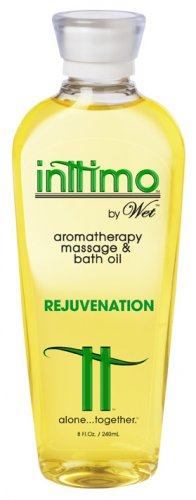 Intimo Aromatherpy Massage Oil by Wet (Rejuvenation)