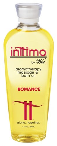 Intimo Aromatherapy Massage oil by Wet (Romance)