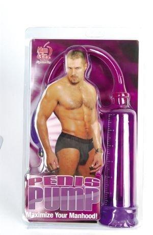 Purple penis pump
