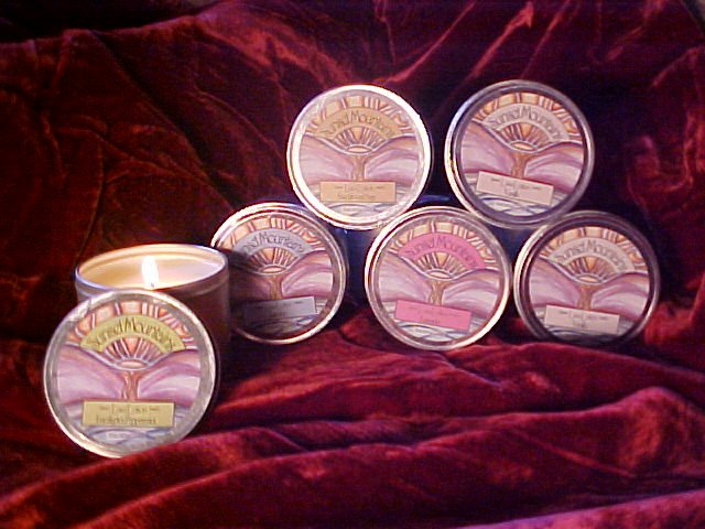 Lava Lotion Massage oil CandleEucalyptus Peppermint