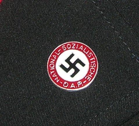 ww2 Germany NSDAP Swastika member lapel pin
