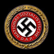 WW2 Germany Adolf Hitler NSDAP Party Member ss Lapel Pin Button