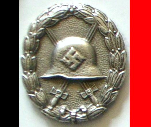 WW2 Nazi Germany Wound Badge Medal Decoration Swastika Award