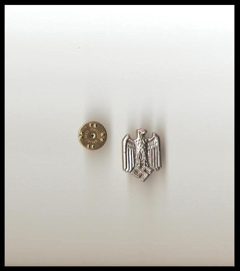 WW2 Germany NSDAP Hitler Emblem Eagle & Swastika Lapel Pin