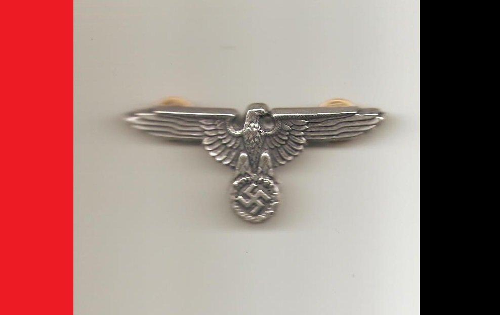 WW2 Germany Nazi Officer's Eagle & Swastika Hat Emblem