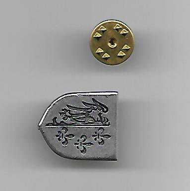 WW2 Nazi Germany 33rd French SS Division Charlemagne Lapel Pin
