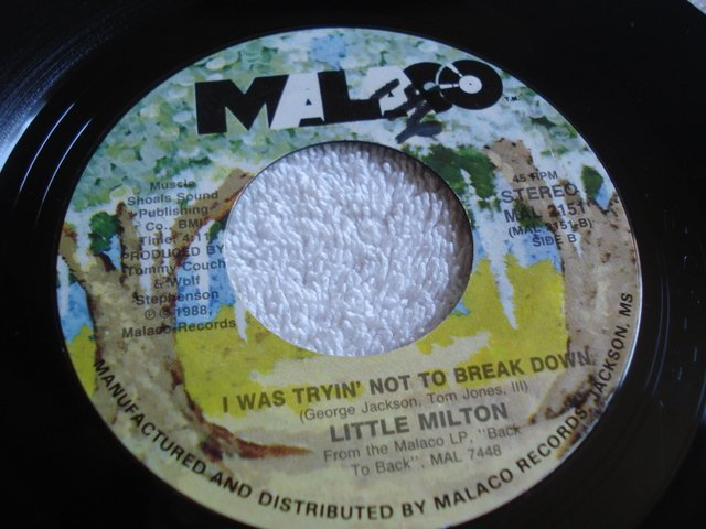 Little Milton - I Don't Believe In Ghosts / Cheatin Is A Risky Business