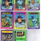 1975 TOPPS MARTY PATTIN #413 ROYALS