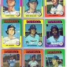 1975 TOPPS HAL McRAE #268 ROYALS