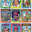 1975 TOPPS JERRY JOHNSON #218 ASTROS