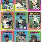 1975 TOPPS JOHN HILLER #415 TIGERS