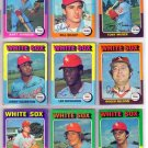 1975 TOPPS BILL SHARP #373 WHITE SOX