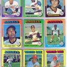 1975 TOPPS LEROY STANTON #342 ANGELS