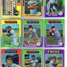1975 TOPPS MINNESOTA TWINS #443 TEAM CARD