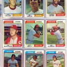 1974 TOPPS JOHNNY JETER #615 WHITE SOX