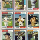 1974 TOPPS FRED SCHERMAN #186 TIGERS