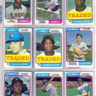 1974 TOPPS TRADED MIKE MARSHALL #73T DODGERS
