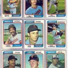 1974 TOPPS DANNY THOMPSON #168 TWINS