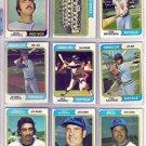 1974 TOPPS PAUL SCHAAL #514 ROYALS