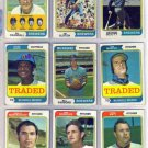 1974 TOPPS TRADED TOM MURPHY #496T BREWERS