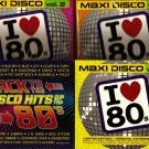 Maxi Disco 80's Vol.1+2+3 + Back To The Disco Hits Of The 80's 118 Hits 4 x 2CD