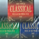 The Most Popular Classical Music In The World ...Ever Vol.1, 2, 3 DigiPaks 6CD