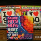 Dance Hits 90's Vol.1, 2 + Best Remixes 90's Of Hits 70's-80's 116 Hits 3 x 2CD