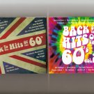 Back To The Hits Of The 60's Vol.1 & 2 DigiPaks 103 Hits See Photos Tracklist