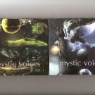 Mystic Voices Vol.1 & 2 Enigma, Gregorian, Era, Delerium, Mythos, B-Tribe..New