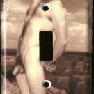 Nature Boy Male Nude Switchplate Cover