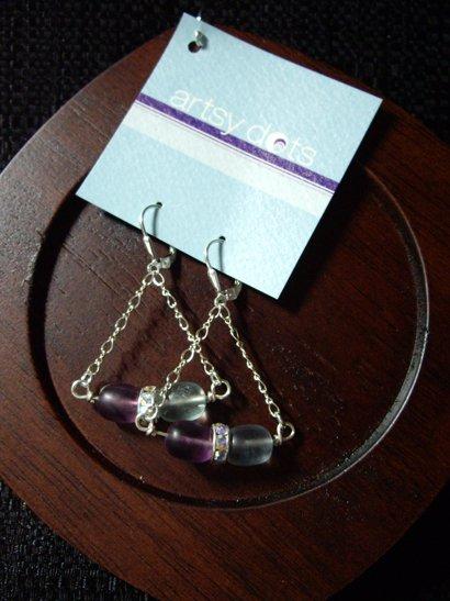 Emmy shaded fluorite earrings