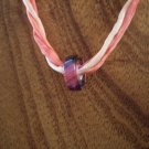David Christensen Berries furnace glass necklace