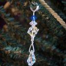 Sterling & Swarovski Holiday Ornament