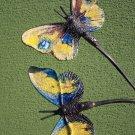 Garden Butterflies 3 - 51 Inch (130 cm) - Pottery&Metal - handmade artwork