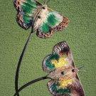 Garden Butterflies 4 - 51 Inch (130 cm) - Pottery&Metal - handmade artwork